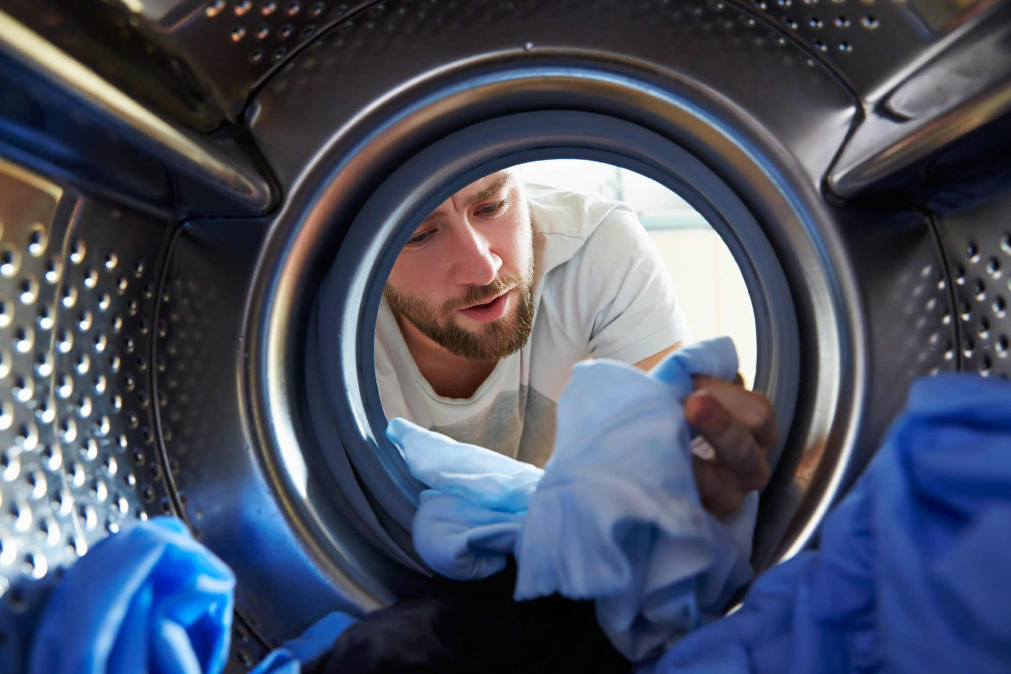 Foto in wasmachine
